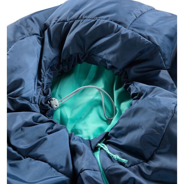 Haglöfs Musca -1 Schlafsack 175cm midnight blue/mint