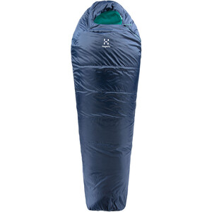 Haglöfs Musca -1 Schlafsack 175cm midnight blue/mint midnight blue/mint