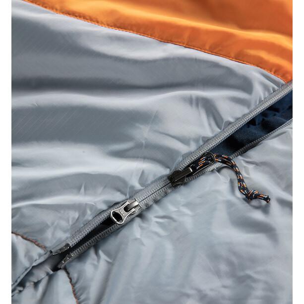 Haglöfs Moonlite -1 Schlafsack 190cm tangerine/gravel grey