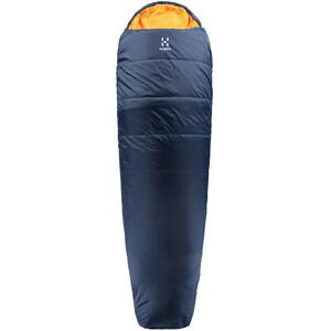 Haglöfs Tarius Lite +8 Schlafsack 190cm midnight blue/tangerine midnight blue/tangerine