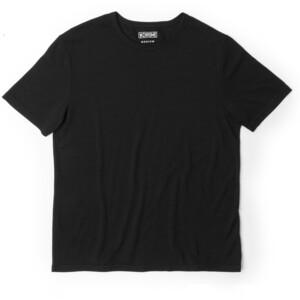 Chrome Merino Kortärmad T-Shirt Herr svart svart