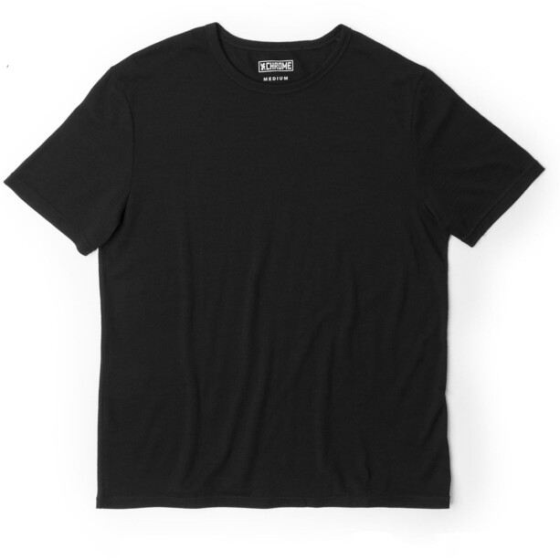 Chrome Merino SS Tee Men black