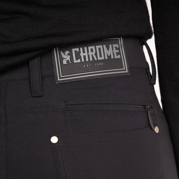 Chrome Madrona 5 Pocket Bukser Dame Svart