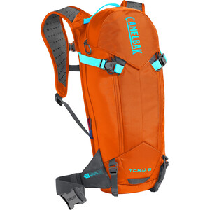 CamelBak T.O.R.O. Protector 8 Backpack red orange/charcoal red orange/charcoal