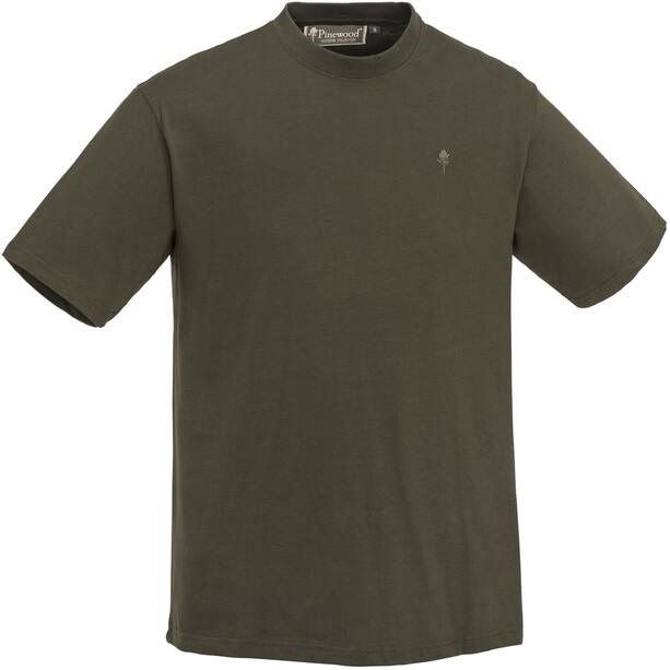 Pinewood T-Shirt 3 Paires Homme, vert/marron