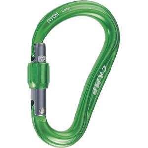 Camp Atom Lock Carabiner green green