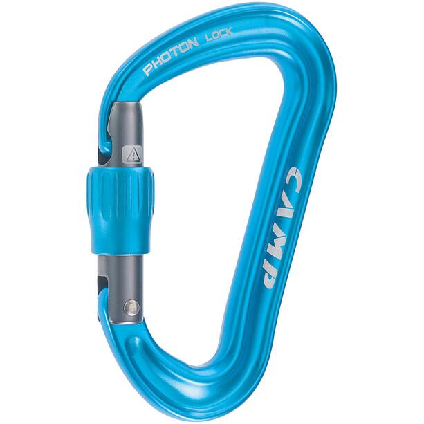 Camp Photon Lock Carabiner blue