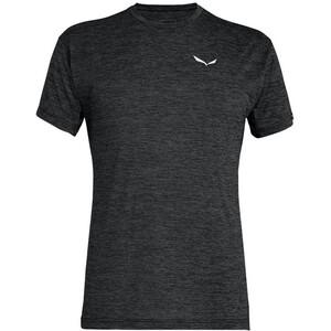 SALEWA Puez Melange Dry T-shirt Homme, black out melange black out melange