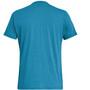 SALEWA Alta Via Dri-Release Kurzarm T-Shirt Herren blue danube melange
