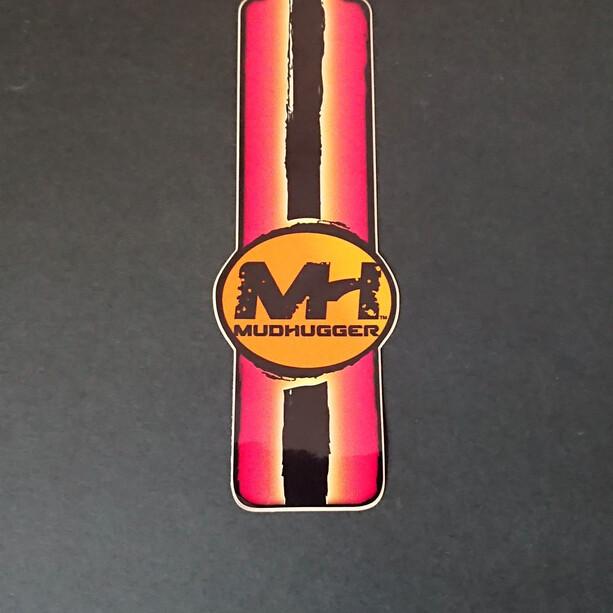 Mudhugger Long Aufkleber 5 Stück red