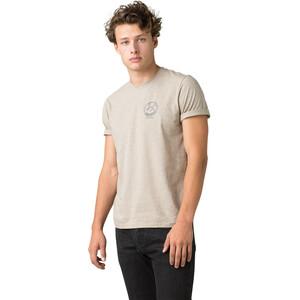 Prana Weekend Wander Kurzarm T-Shirt Herren dark khaki heather dark khaki heather
