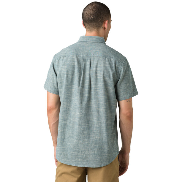 Prana Agua SS T-Shirt Men, atlantic