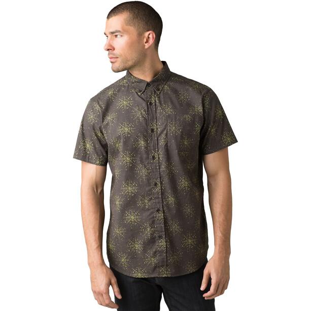 Prana Hillsdale T-shirt Slim Homme, marron