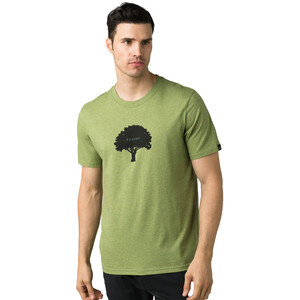 Prana Tree Hugger Journeyman Kurzarm T-Shirt Herren matcha heather matcha heather