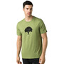 Prana Tree Hugger Journeyman Kurzarm T-Shirt Herren matcha heather