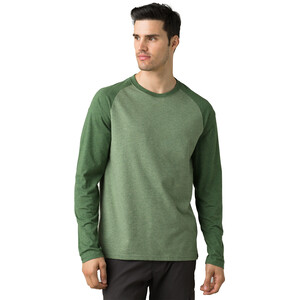 Prana Baseball Raglan Langarm T-Shirt Herren canopy heather canopy heather