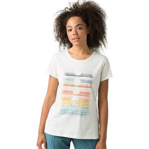 Prana Graphic Kurzarm T-Shirt Damen white dusk white dusk