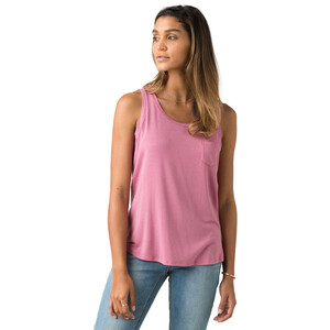 Prana Foundation U-Ausschnitt Tank Top Damen cassis heather cassis heather