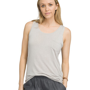 Prana Foundation U-Ausschnitt Tank Top Damen light grey heather light grey heather