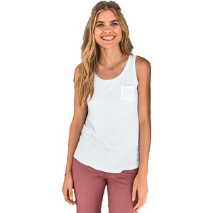Prana Foundation U-Ausschnitt Tank Top Damen white white