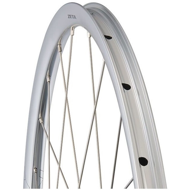 "Ritchey Classic Zeta Laufradsatz 28"" Disc Drahtreifen 100/142x12mm Shimano/SRAM/10-11-fach TLR silver"