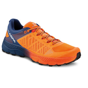Scarpa Spin Ultra Trail Running Shoes Men orange fluo-galaxy blue orange fluo-galaxy blue