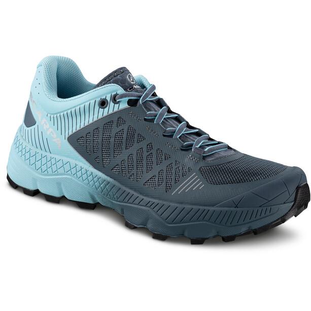 Scarpa Spin Ultra Trail Running Shoes Women turkos/grå