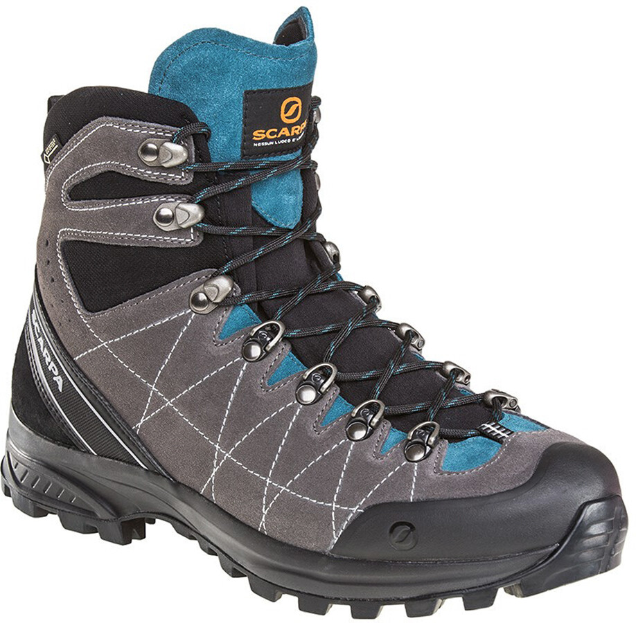 Scarpa Hydrogen Hike GTX Shoes Herr dark gray lake blue