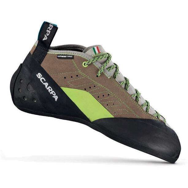 Scarpa Maestro Mid Eco Climbing Shoes Men stone-light gray