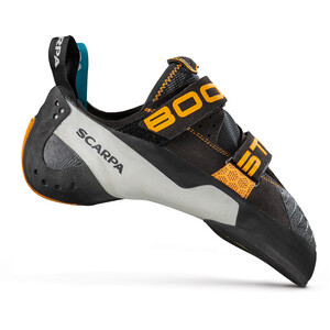 Scarpa Booster Climbing Shoes black-orange black-orange