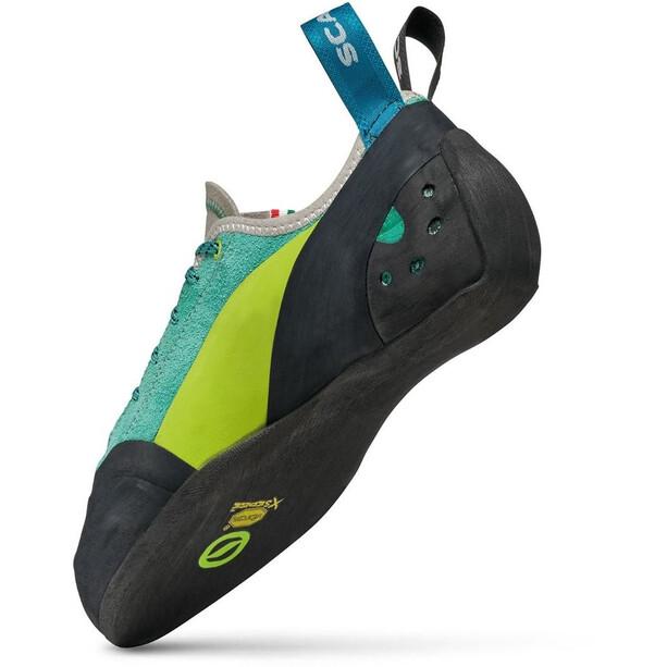 Scarpa Maestro Eco Climbing Shoes Women green blue
