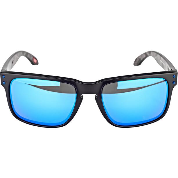 Oakley Holbrook Sunglasses matte black prizmatic/prizm sapphire polarized
