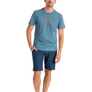VAUDE Cyclist V T-Shirt Herren blue grey blue grey