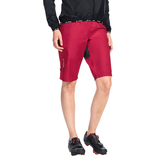 VAUDE Drop Shorts Damen rot
