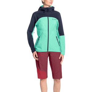 VAUDE Moab Rain Jacket Dame eclipse/blue eclipse/blue
