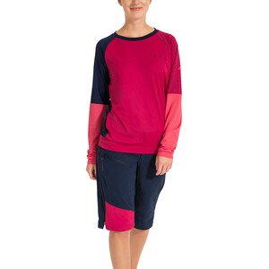 VAUDE Moab IV LS Shirt Women cranberry cranberry