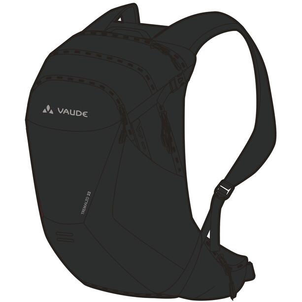 VAUDE Tremalzo 22 Rucksack black