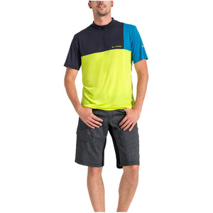 VAUDE Tremalzo Stripes Shorts Men black black