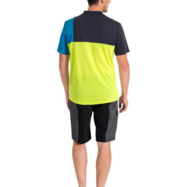 VAUDE Tremalzo Stripes Shorts Herren black