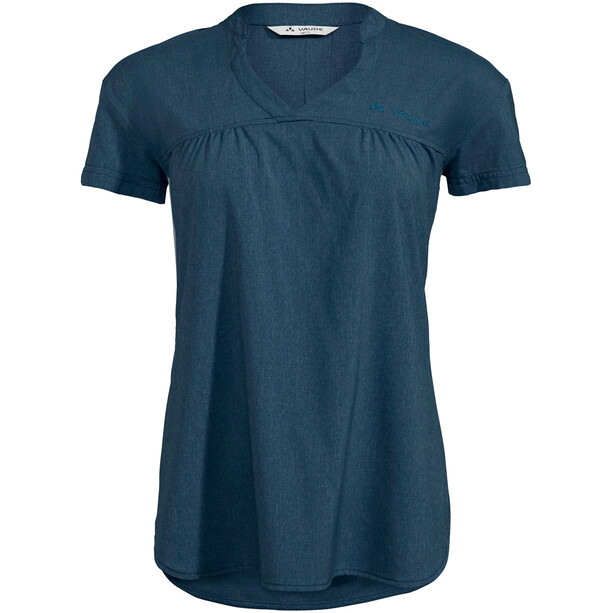 VAUDE Turifo Hybrid Shirt Damen baltic sea