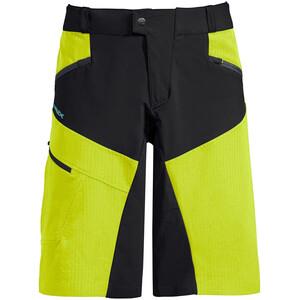 VAUDE Virt Shorts Hombre, verde/negro verde/negro