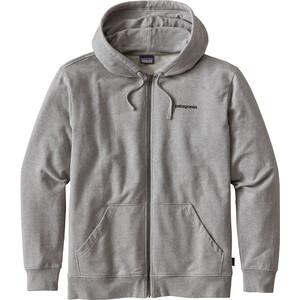 Patagonia P-6 Logo MW Kapuzensweater Herren feather grey feather grey
