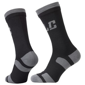 XLC CS-W01 Socken Wasserdicht black/grey black/grey