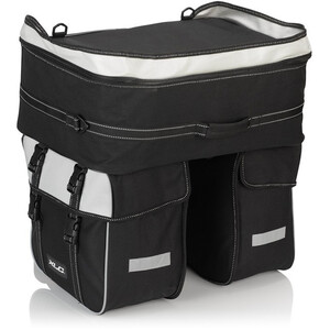 XLC Traveller BA-S68 Dreifachpacktasche 58l black/anthracite black/anthracite