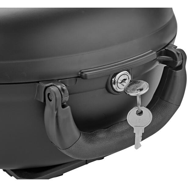 XLC Carry More BA-B03 Cargo Box 12l für XLC-Systemgepäckträger inklusive Adapterplatte black