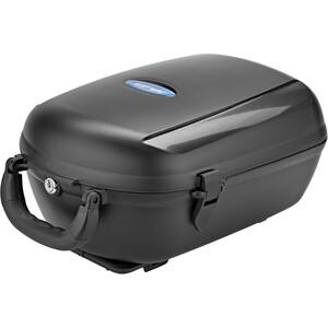 XLC Carry More BA-B03 Cargo Box 12l für XLC-Systemgepäckträger inklusive Adapterplatte black black