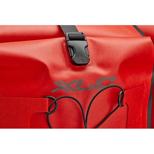XLC BA-W38 Einzeltaschenset Wasserdicht red