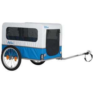"""XLC Doggy Van BS-L04 Polkupyörän perävaunu 16"""" akselikytkennällä"""