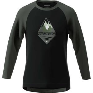 Zimtstern PureFlowz 3/4 Shirt Herren pirate black/gun metal/fog green pirate black/gun metal/fog green