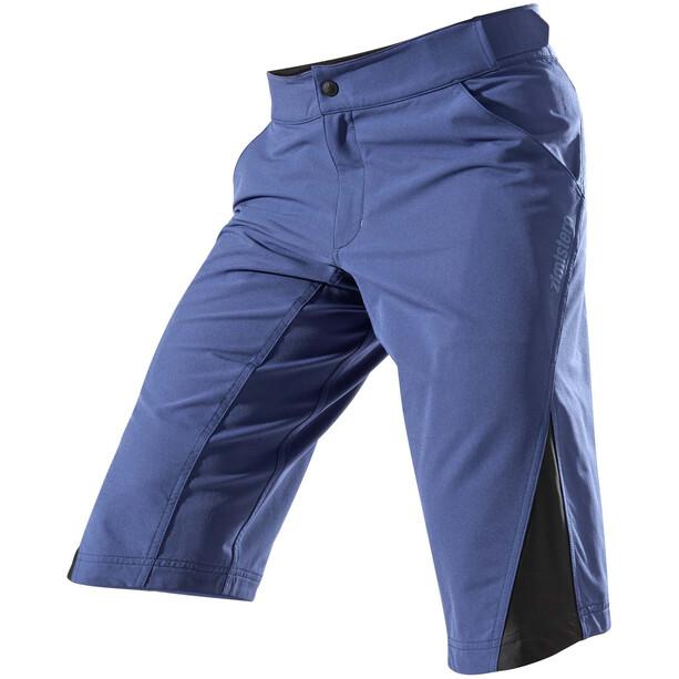 Zimtstern StarFlowz Short Homme, Bleu pétrole